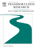 Special Issue Transportation Research Part E